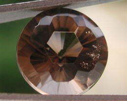 6.00ct WONDERFUL FACETED BRAZILIAN SMOKEY QUARTZ GEM CUT IN THE U.S