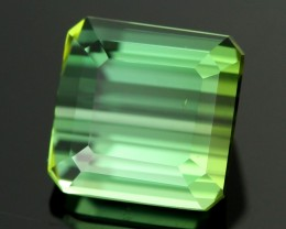 3.67 cts Neon Green Tourmaline -Ideal Cut (RTO103)