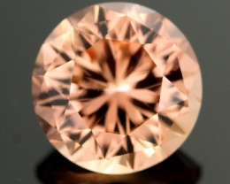 3.92 cts Bright Peach Tourmaline -Stunning Cut (RTO102)
