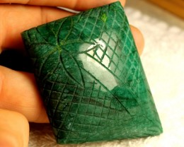 410 Carat Carved Green Emerald