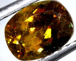 CHROME SPHENE FACETED  QUALITY  1.70  CTS PG-432