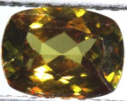 CHROME SPHENE FACETED    1.70 CTS PG-431