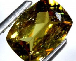 CHROME SPHENE FACETED  1.40 CTS PG-447