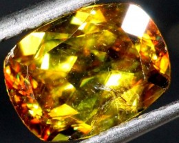 1.6 cts CHROME SPHENE FACETED      PG-451