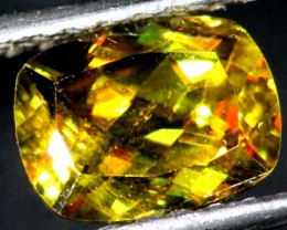 CHROME SPHENE FACETED    1.7 CTS PG-452