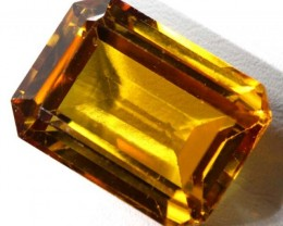 CITRINE FACETED NATURAL STONE 27.5  CTS TBM-377