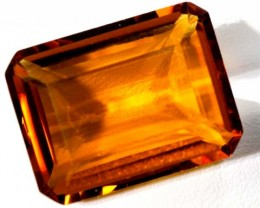 CITRINE FACETED NATURAL STONE  19.4 CTS TBM-380