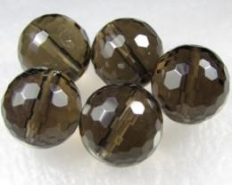 11-12mm Brazil Smokey Quartz Drilled Beads Z 2104
