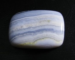 Lovely Blue Lace Agate Cab Stone  Y127