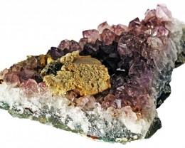 1050.00 Cts Brazil Amethyst & Calcite specimen  RB 102