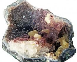 1675.00 Cts Brazil Amethyst & Calcite specimen  RB 106