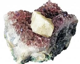 1520.00 Cts Brazil Amethyst & Calcite specimen  RB 109