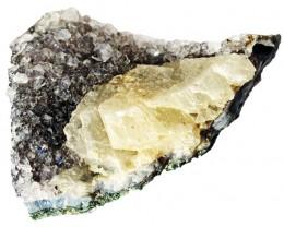 645.00 Cts Brazil Amethyst & Calcite specimen  RB 115