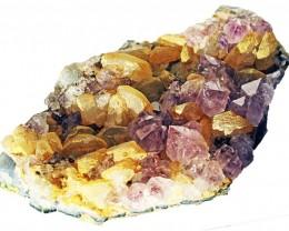 1700.00 Cts Brazil Amethyst & Calcite specimen  RB 120