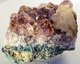 615.00 Cts Brazil Amethyst & Calcite specimen  RB 127