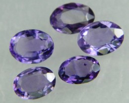 Lovley Brazil Amethyst Faceted  Natural Stone  Y161