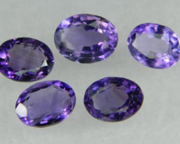 Lovley Brazil Amethyst Faceted  Natural Stone  Y156