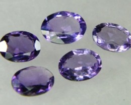Lovley Brazil Amethyst Faceted  Natural Stone  Y167