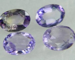 Natural Brazil Amethyst Faceted Stone Parcel  Y164