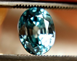 3.47 Carat VVS Blue Zircon From Southeast Asia