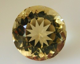 9.10ct MARVELLOUS FACETED BRAZILIAN CITRINE GEM CUT IN THE U.S (MJ02)