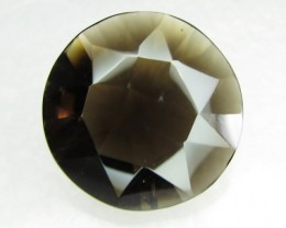 Natural Brazil Smokey Quartz Faceted Stone Z 2163
