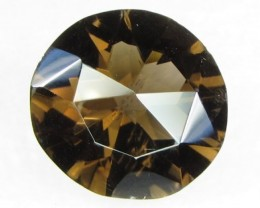 Natural Brazil Smokey Quartz Faceted Stone Z 2165