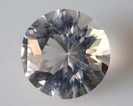 6.20ct MARVELLOUS FACETED BRAZILIAN QUARTZ GEM CUT IN THE U.S (MJ20)