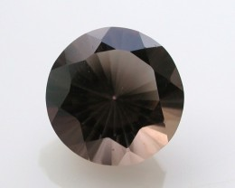 7.75ct WONDERFUL BRAZILIAN FACETED SMOKEY QUARTZ GEM CUT IN THE U.S (MJ21)