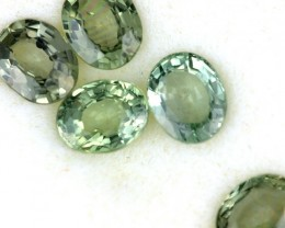 2.89 CTS GREEN SAPPHIRE PARCEL-ACCENT [ST8622]