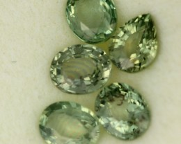 2.60 CTS GREEN SAPPHIRE PARCEL-ACCENT [ST8613]
