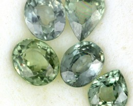 2.49 CTS GREEN SAPPHIRE PARCEL-ACCENT [ST8619]