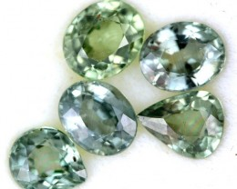 2.60 CTS GREEN SAPPHIRE PARCEL-ACCENT [ST8621]