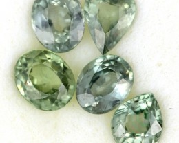 2.48 CTS GREEN SAPPHIRE PARCEL-ACCENT [ST8620]