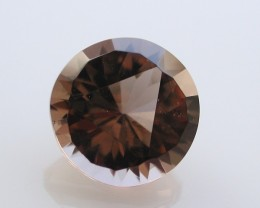 7.00ct WONDERFUL BRAZILIAN FACETED SMOKEY QUARTZ GEM CUT IN THE U.S (MJ34)