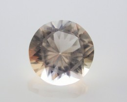 6.45ct MARVELLOUS FACETED BRAZILIAN QUARTZ GEM CUT IN THE U.S (MJ29)