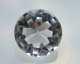 6.70ct MARVELLOUS FACETED BRAZILIAN QUARTZ GEM CUT IN THE U.S (MJ27)