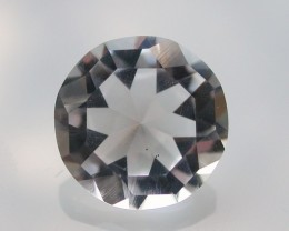 5.85ct MARVELLOUS FACETED BRAZILIAN QUARTZ GEM CUT IN THE U.S (MJ25)