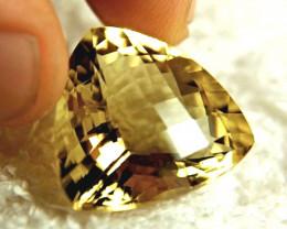 CERTIFIED - 35.58 Carat Natural South American Quartz - Superb