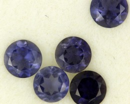 1.13 CTS PURPLE BLUE IOLITE - THE WATER SAPPHIRE  [ST8649]