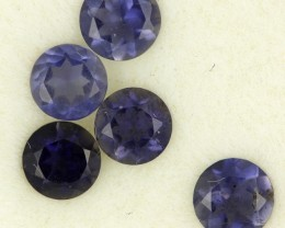 0.97 CTS PURPLE BLUE IOLITE - THE WATER SAPPHIRE  [ST8637]