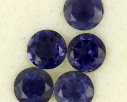 1.07 CTS PURPLE BLUE IOLITE - THE WATER SAPPHIRE  [ST8639]