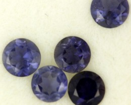 1.02 CTS PURPLE BLUE IOLITE - THE WATER SAPPHIRE  [ST8625]