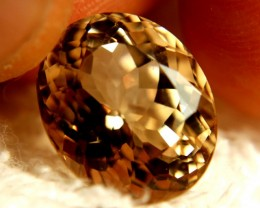 15.10 Carat VVS1 Golden Brown Brazil Topaz - Superb