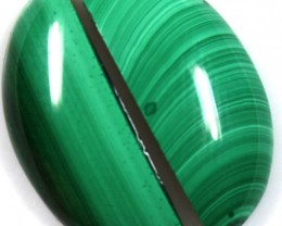 17.35 CTS CABOCHON HIGH DOME MALACHITE PAIRS