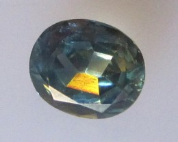 1.54cts Natural Australian Parti Sapphire Oval Cut