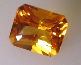 1.81cts Golden Yellow Citrine Radiant Shape