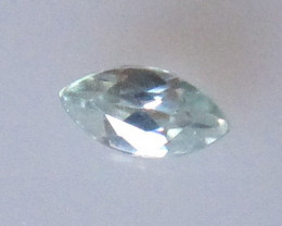 0.19cts Rare Natural Australian Blue Zircon Marquise Shape