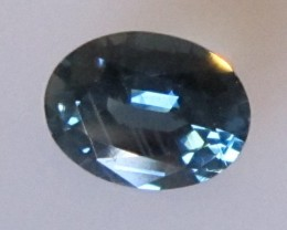 0.86cts Natural Australian Sapphire Oval Cut