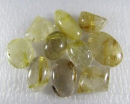 101cts Natural Brazil Golden Rutile Quartz Lot Z 2227